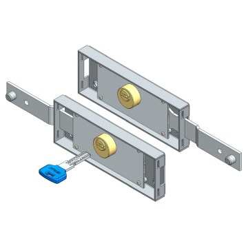 Reasonable price for Roller Shutter Lock Set Roller shutter lock set computerkey shifted bolt supply to Netherlands Wholesale