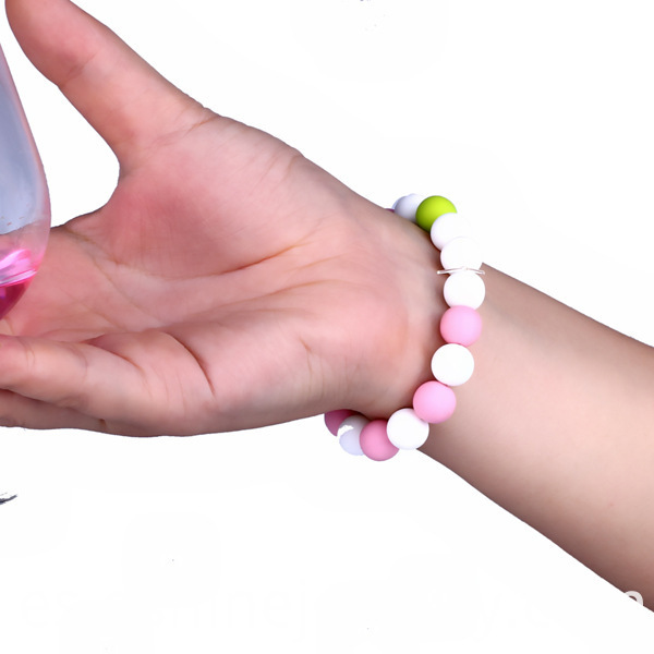 Silicone Beads Wristband