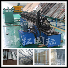 light steel framing machine omega roll forming machine CUWL material forming machine