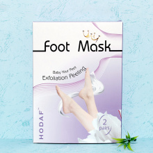 Customized for Exfoliating Milky Foot Mask foot care beauty baby foot peeling foot mask export to Guyana Manufacturer