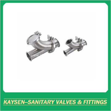 Sanitary Y-ball check valves