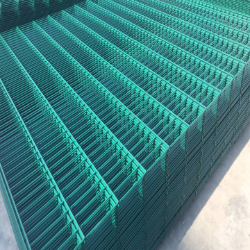 Green or Black Twin Wire Mesh Fence