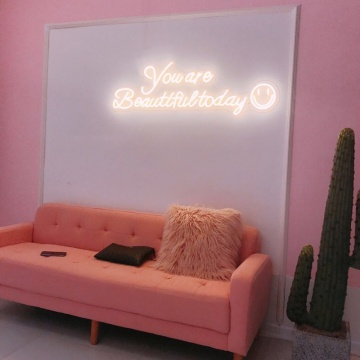 LED NEON SIGN ING WALL HOME