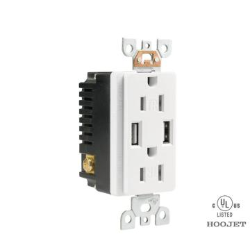 Wall USB Socket 15A