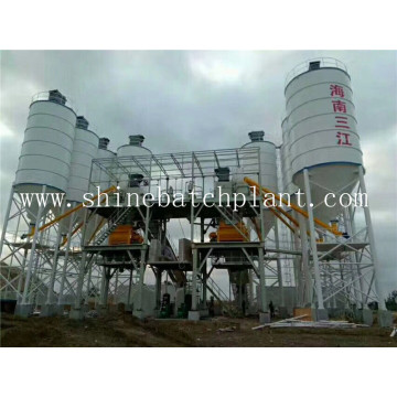 CE Certified 180 Concrete Batching Plant