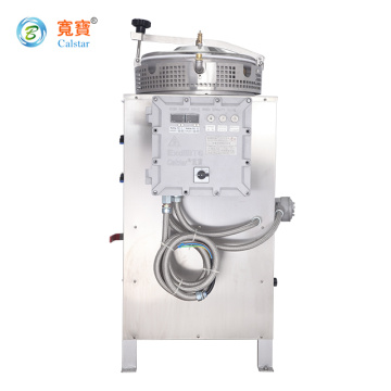 Intelligent waste solvent recycling machine