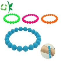 Chew Beads Bracelets Popular Food-safe Silicone Teether