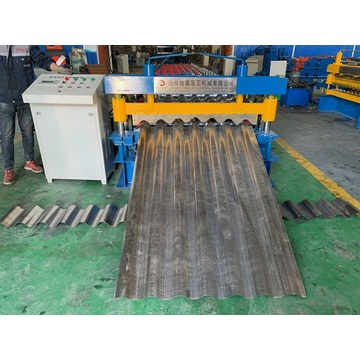 Steel profile metal roofing corrugated roll forming machines