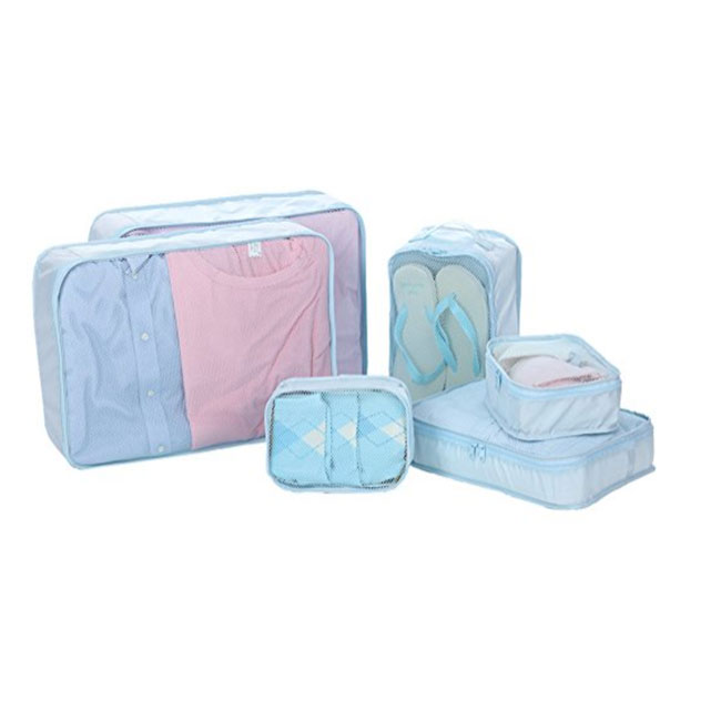 6 Set Packing Cubes