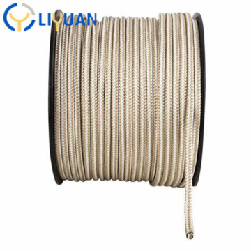 Braided twisted marine nylon rope