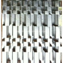 Heat Exchanger Turbulator Fins and Fin Molds