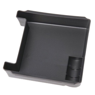 Car Armrest Storage box glove box black ABS
