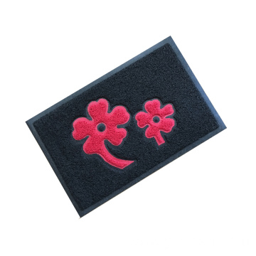 On sales pattern PVC foam door mats