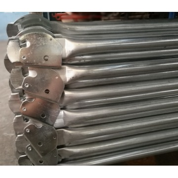 Galvanized Snap-on Lock Guardrails for Scaffolding