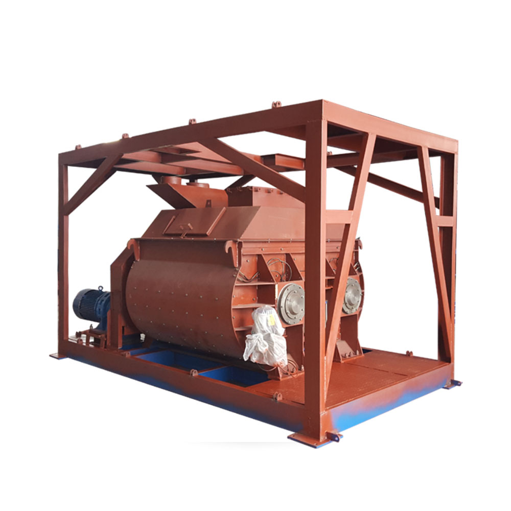 Twin shaft electric one bagger concrete mixer price