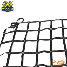 Best-Selling for Stainless Steel Ratchet Strap Safety Nylon Polyester Plastic Flat Webbing Net Cargo Net supply to China Hong Kong Importers