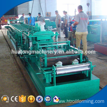 Steel frame metal used czu square tube roll forming machine