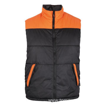 Black with orange Body Warmer