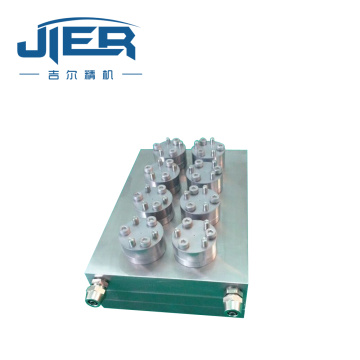 Hollow fiber membrane mold head