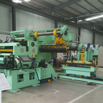 Press feeder decoiler straightener coil handling equipment