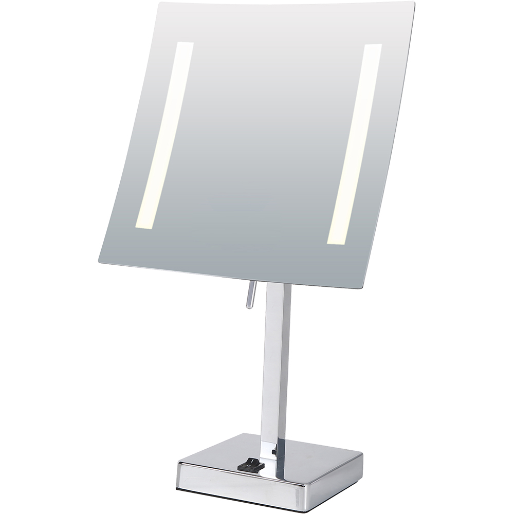 frameless standing mirror