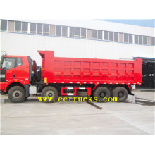 Hot sale for 10 Wheeler Dump Trucks FAW 60 TON 12 Wheel Dumper Trucks export to Afghanistan Suppliers
