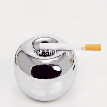 Stainless Steel Apple Shaped Ashtray