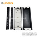 Two Inlets Outlets Horizontal Joint Closure Fiber Optic Cable Junction Box
