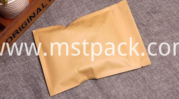 Zip lock flat bag