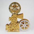 old style movie projector gear clock