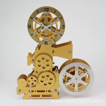 Best Quality for Gift Desk Clock old style movie projector gear clock export to Russian Federation Suppliers