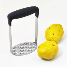 stainless steel potato press