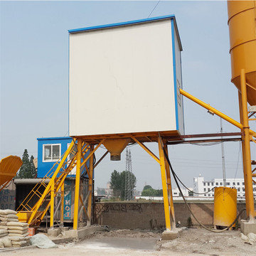 Automatic commercial 35m3 concrete mixing plant in India