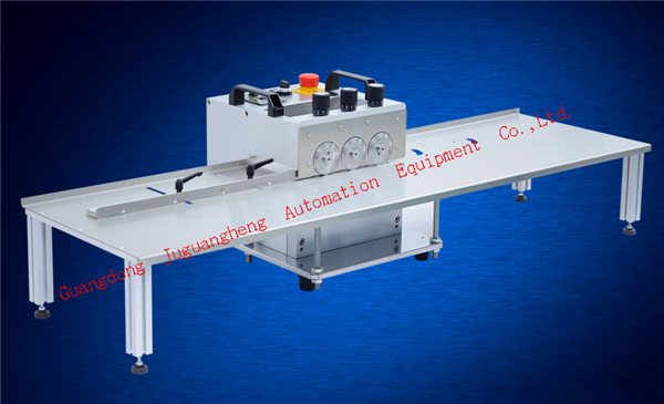 3 pole tylpe JGH-213 PCB cutting machine with 1.2m platform(2)