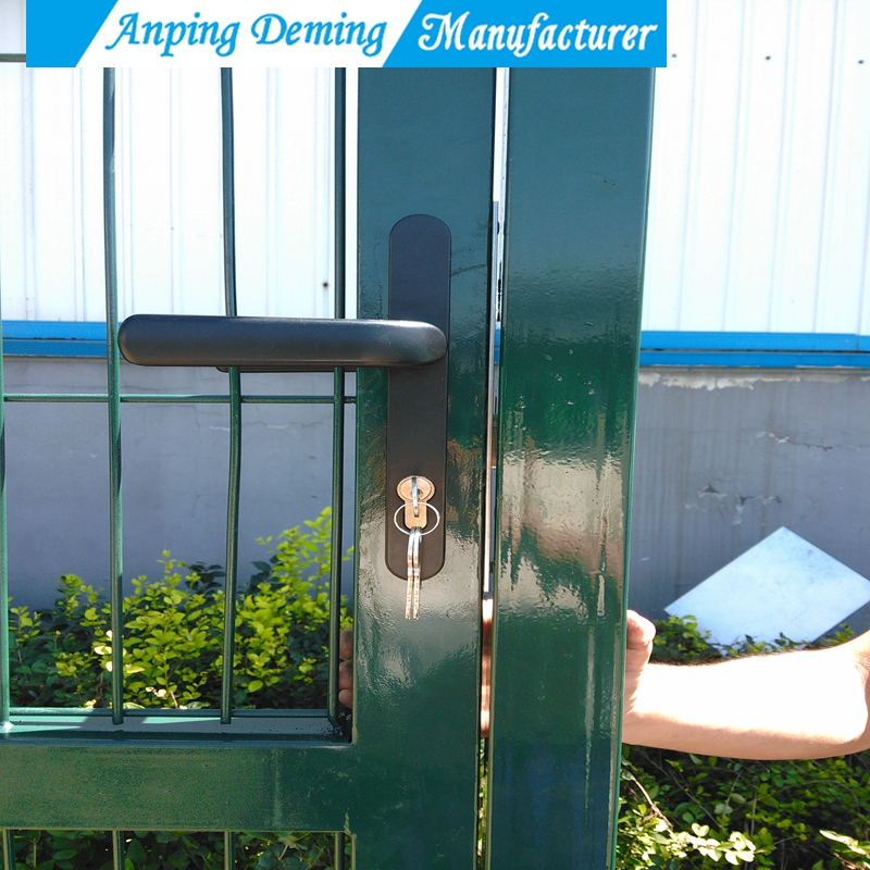 Hot Sale Hot Dipped Galvanized PVC Coated House Gate