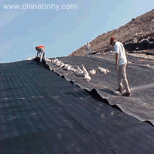 100% Virgin High Quality Textured HDPE Geomembrane 2.0mm