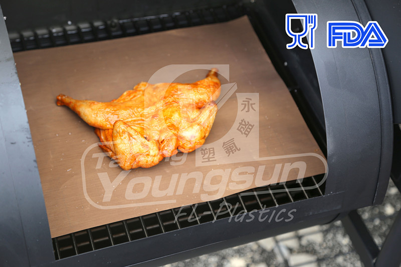 As Seen On TV Grill Mat and 500F Safe to use