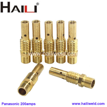 HAILI Panasonic Brass Contact TIp Holder For 200AMP