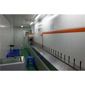 PU primer UV top coating line