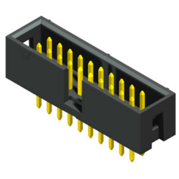 2.54mm Box Header  Connector Straight