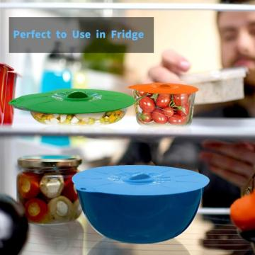 Microwave Food Cover for Bowls Silicone Lids Covers