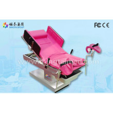 Electric hydraulic gynecological beds