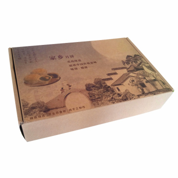 CMYK 4C Printed Folding Paper Mailing Corrugated Box