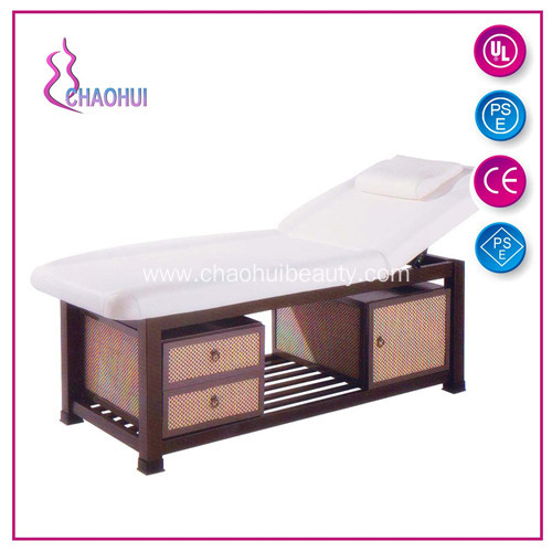 1 Year Guarantee Comfortable Massage Bed Wood