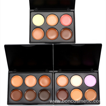 OEM Custom concealer blusher cream foundation palette