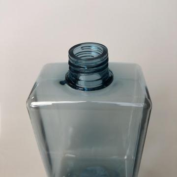 250ml square bottle with lotion pump