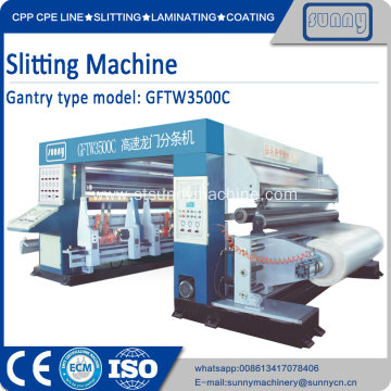 Slitting and Rewinding Machine for Paper, Films