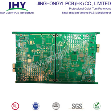 4 Layer Impedance Control PCB With Gold Fingers