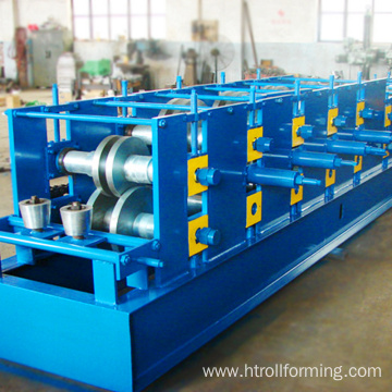 Fast speed 2.5mm thickness aluminium gutter roll forming machine