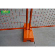 temporary fence galvanized barriers